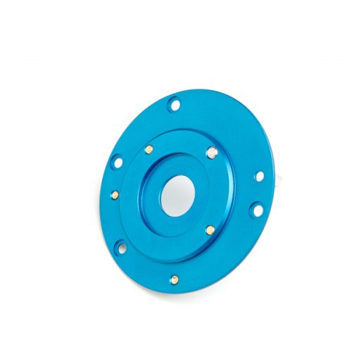 Blue Brake Plate (Front)